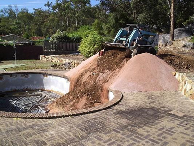Quot Swimming Pool Filling And Removal Earth Excavating Llc Quot